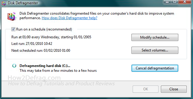 how to defrag hard drive in windows10
